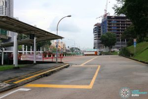 New Bridge Road Bus Terminal - Alighting Area