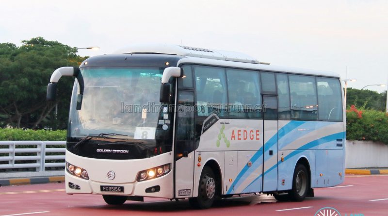 Shuttle 8 - Operated by Aedge Holdings (PC3515G)