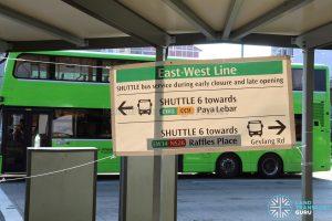 Shuttle 6 Banner at Kallang