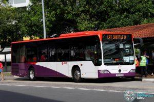 LRT Shuttle B: SMRT Buses Mercedes-Benz Citaro (SG1220M)