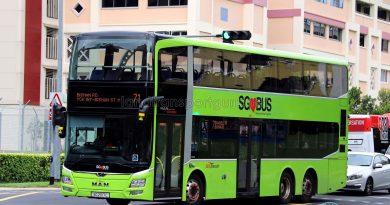 Service 71: SBS Transit MAN A95 (SG2017C)