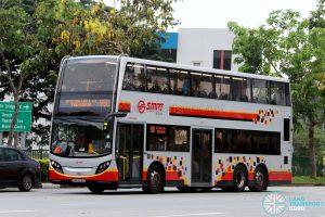 Service 980 - SMRT Buses Alexander Dennis Enviro500 (SMB5035C)