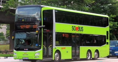 Service 900 - SMRT Buses MAN A95 (SG5872E)