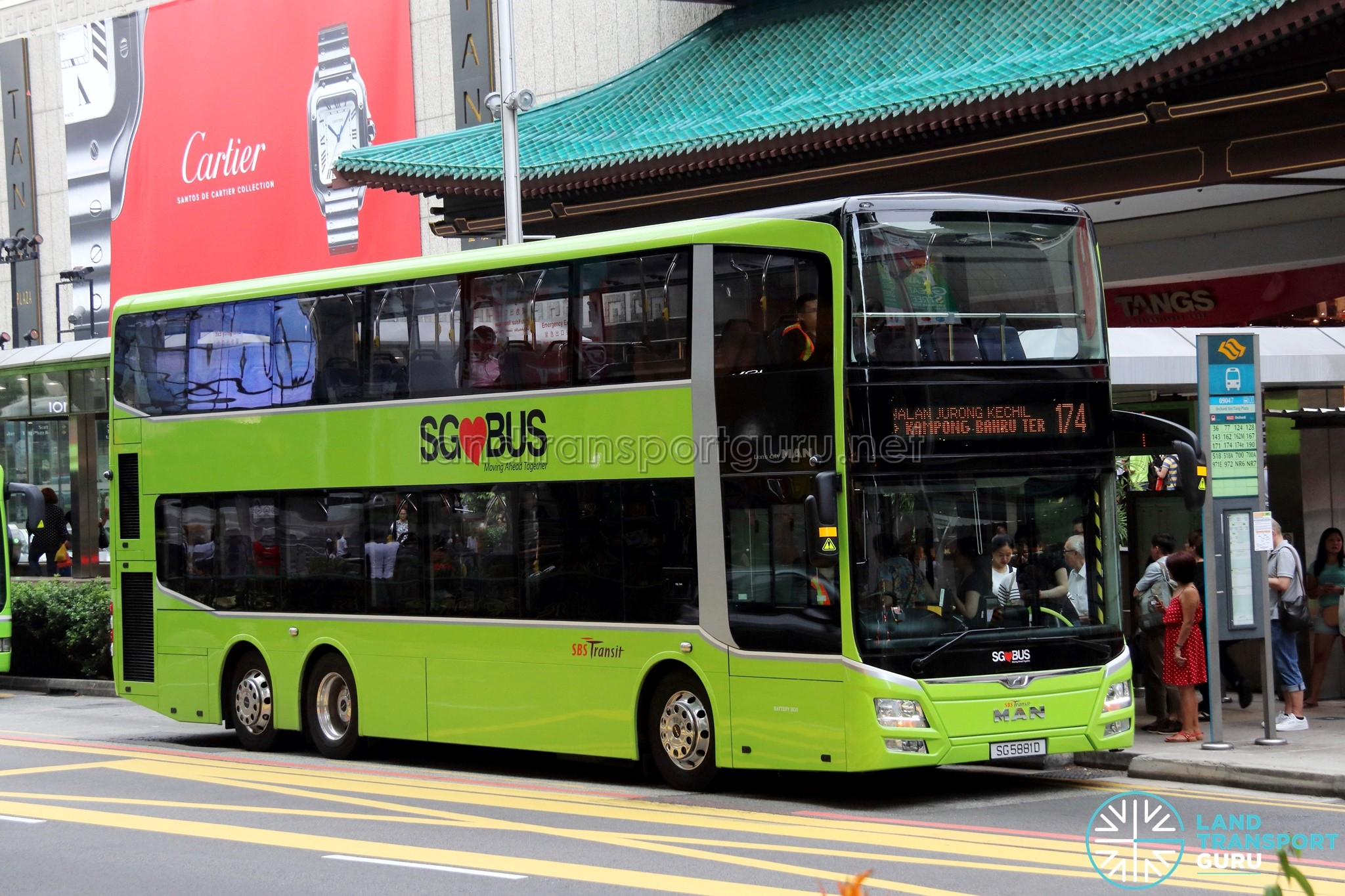 SBS Transit Bus Service 174 | Land Transport Guru