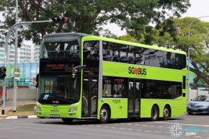 Service 2: Go-Ahead MAN A95 (SG5909J)