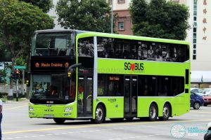 Route Training - Go-Ahead Singapore MAN A95 (SG5920A)
