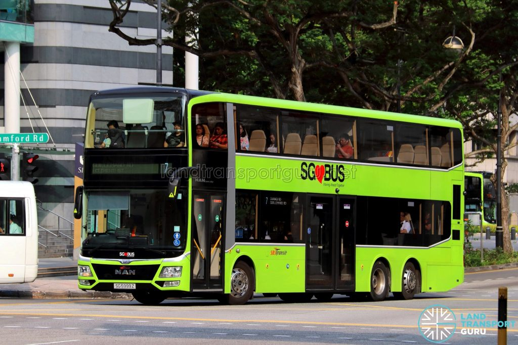 3-door MAN Lion's City DD (SG5999Z) - Service 7