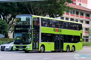 Service 7 - SBS Transit MAN Lion's City DD L Concept Bus (SG5999Z)