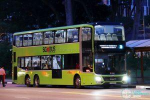 Service 7A - SBS Transit MAN Lion's City DD L Concept Bus (SG5999Z)