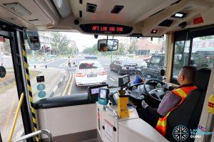 MAN Lion's City DD L Concept Bus (SG5999Z) -Driver's Cab
