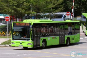 Service 974: Tower Transit Mercedes-Benz Citaro (SBS6312L)