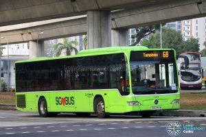 Service 68: Go-Ahead Mercedes-Benz Citaro (SBS6401M)