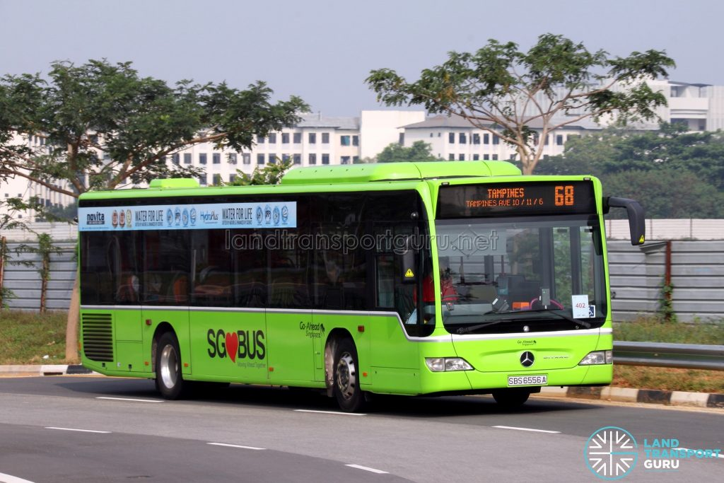 Service 68: Go-Ahead Mercedes-Benz Citaro (SBS6556A)