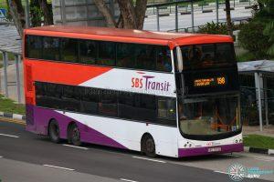 Service 198 - SBS Transit Volvo B9TL (CDGE) (SBS7373D)