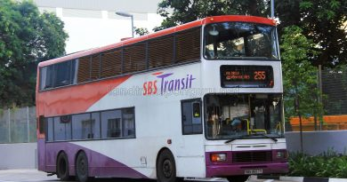 Service 255 - SBS Transit Volvo Olympian 3-Axles (SBS9657Y)