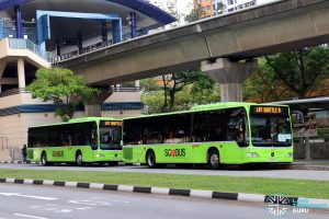 Bukit Panjang LRT Bridging Bus Service