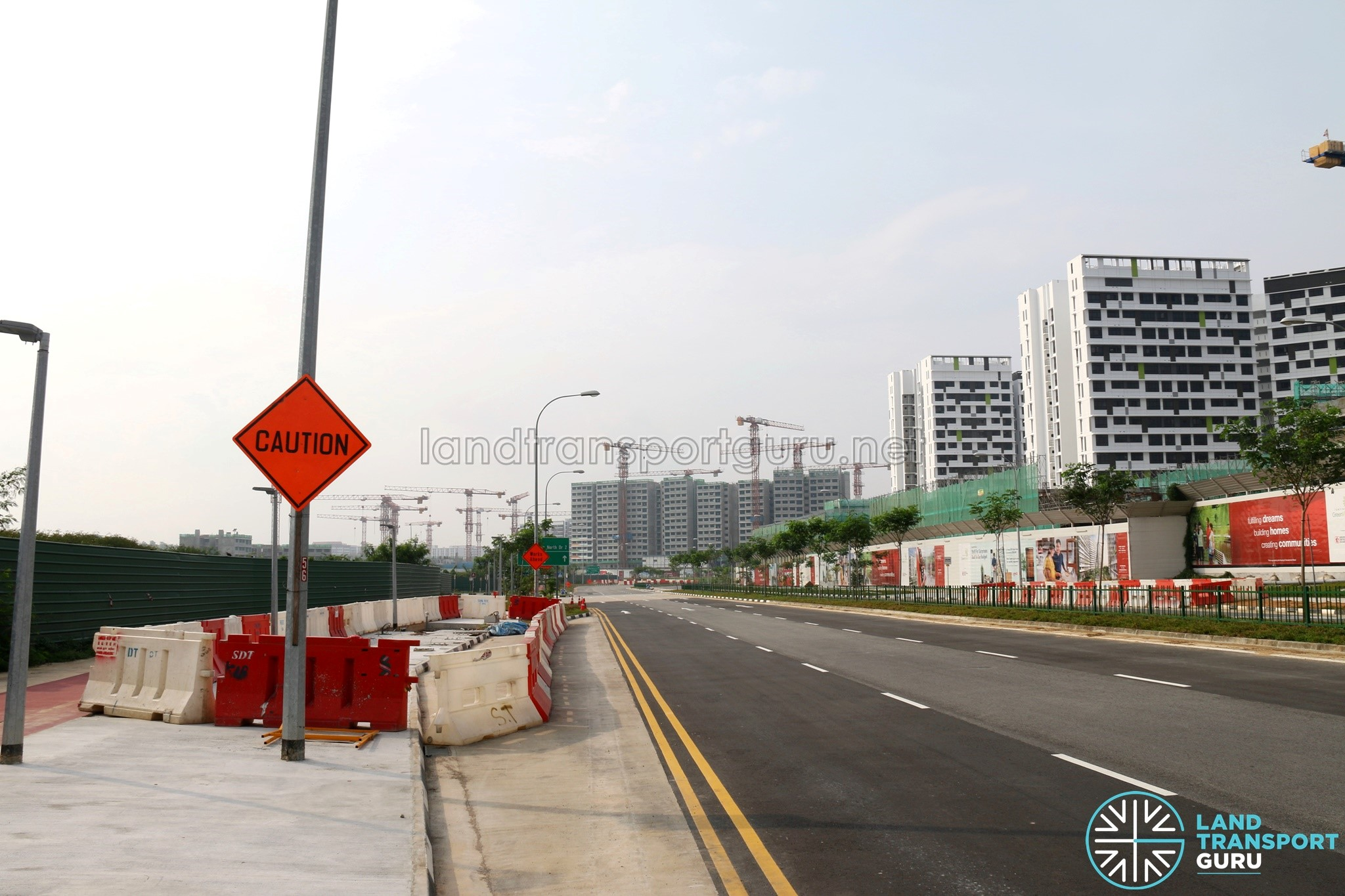 Bus Stop Provisions for Service 68 at Tampines Avenue 6