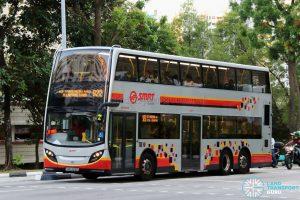 Service 922 - SMRT Buses Alexander Dennis Enviro500 (SMB3616P)