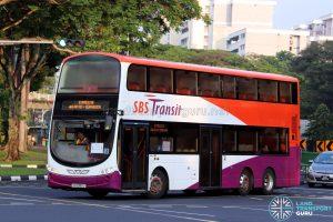 Express 16: SBS Transit Volvo B9TL Wright (SG5385U)