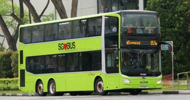 SBS Transit Express Bus Service 851e - MAN A95 Euro 6 (SG5921Y)