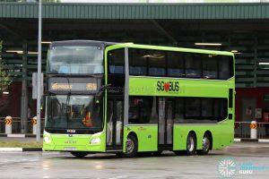 SBS Transit Express Bus Service 851e - MAN A95 Euro 6 (SG5923S)