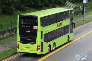 SBS Transit Express Bus Service 851e - MAN A95 Euro 6 (SG5924P) - Rear