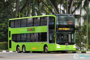 SBS Transit Express Bus Service 851e - MAN A95 Euro 6 (SG5925L)