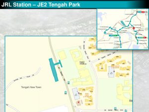 Tengah Park: JRL Station Diagram