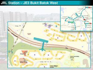 Bukit Batok West: JRL Station Diagram