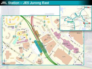 Jurong East: JRL Station Diagram