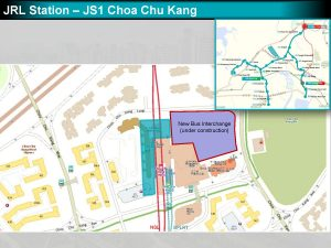 Choa Chu Kang: JRL Station Diagram