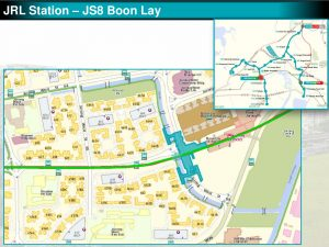 Boon Lay: JRL Station Diagram