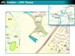 Tawas: JRL Station Diagram
