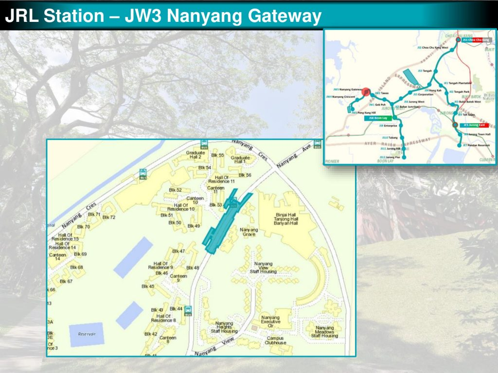 Nanyang Gateway: JRL Station Diagram