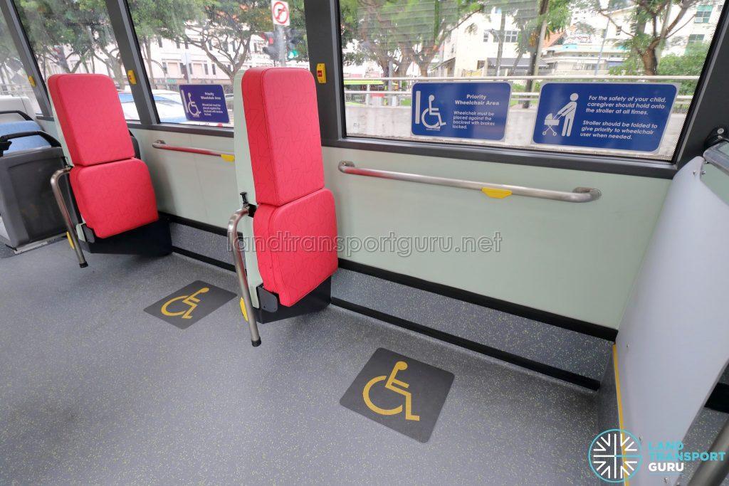 MAN A22 (Euro 6) - Wheelchair Bays