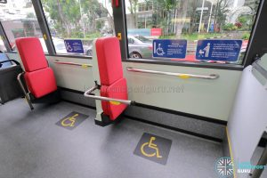 MAN A22 (Euro 6) - Wheelchair Bay (Handlebar deployed)
