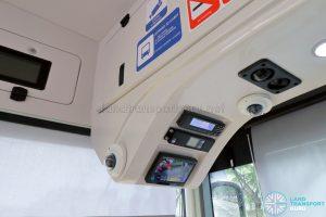 MAN A22 (Euro 6) - Driver's cab overhead controls