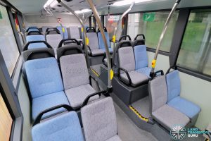 MAN A95 (Euro 6) - Lower deck rear seating (without red seat covers)