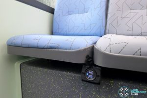 MAN A95 (Euro 6) - USB Charging Ports between seats