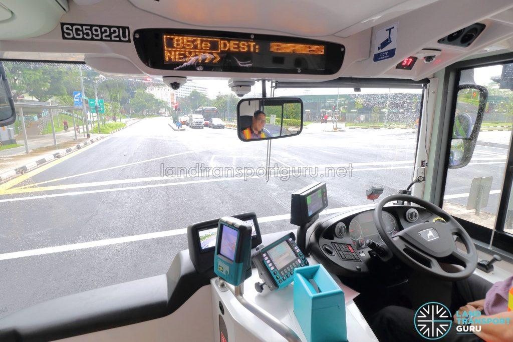 MAN A95 (Euro 6) - Driver's Cab