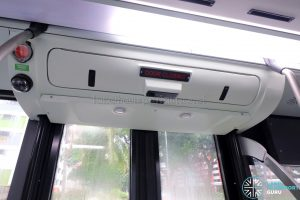 MAN A95 (Euro 6) - Exit Door with Passenger Counter