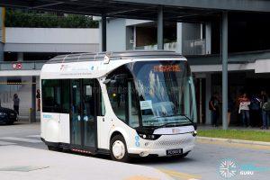 NTU-Blue Solutions Flash Shuttle - Foodgle Food Court stop