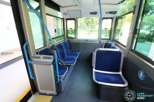 Bolloré Bluetram (PC6617B) - Interior (Front to Back)