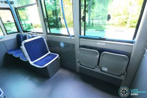 Bolloré Bluetram (PC6617B) - Wheelchair Bay / Foldable seats