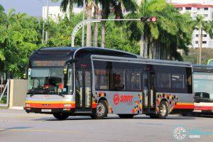 Service 912M - SMRT Buses MAN A22 (SMB1610T)