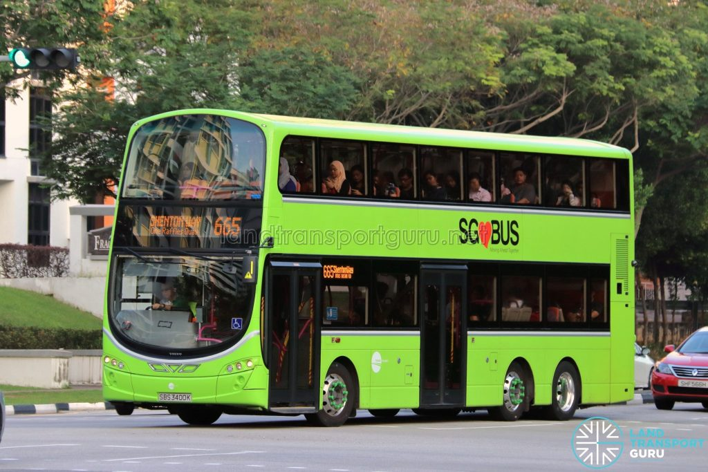 City Direct 665 - Tower Transit Volvo B9TL Wright (SBS3400K)