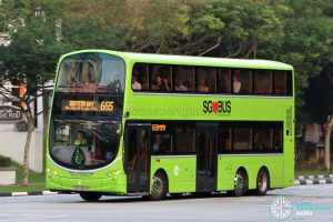 City Direct 665 - Tower Transit Volvo B9TL Wright (SBS3412B)