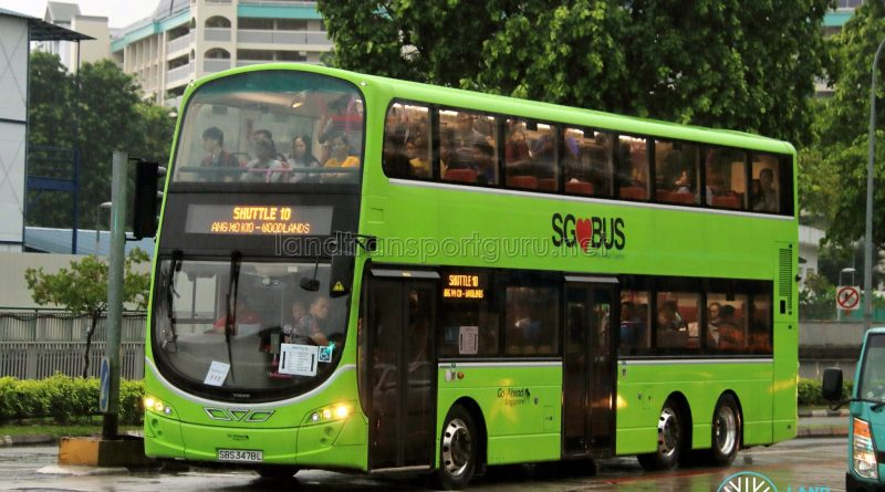 Shuttle 10 - Go-Ahead Singapore Volvo B9TL (SBS3478L)