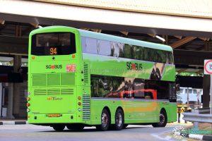 Service 94 - SBS Transit Volvo B8L (SG4003D) [Rear]