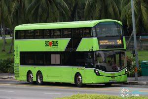 Service 94 - SBS Transit Volvo B8L (SG4003D)